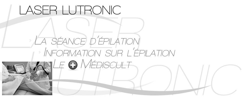 Epilation permanente. Centre laser lutronic épilation Avignon